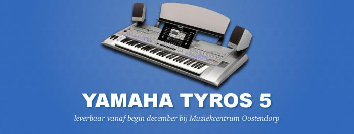 Yamaha Tyros 5 website